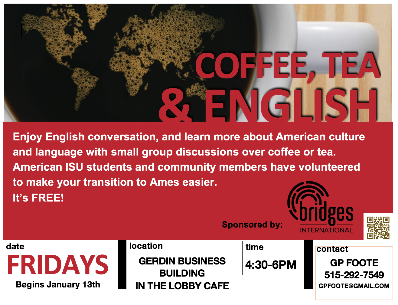 Coffee, Tea, & English